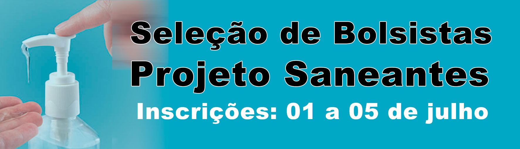 Bolsistas Projeto Saneantes