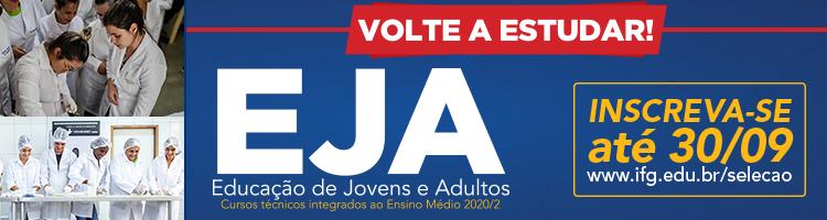 Até 30/09 - EJA 2020/2
