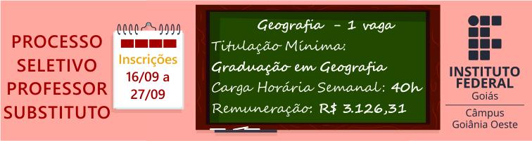 Professor Substituto Geografia