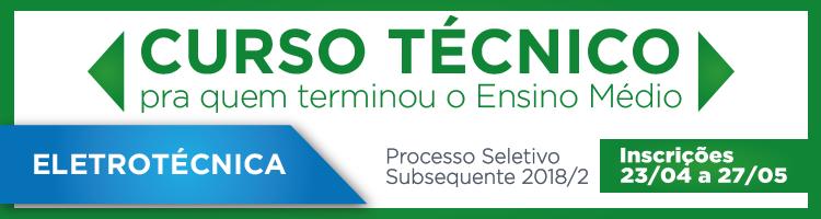 Técnico Subsequente 2018/2