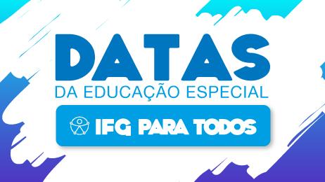 Banner com Datas da Educação Especial