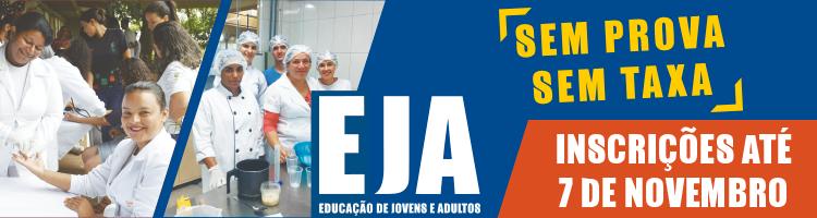EJA 2019 - Inscrições Abertas