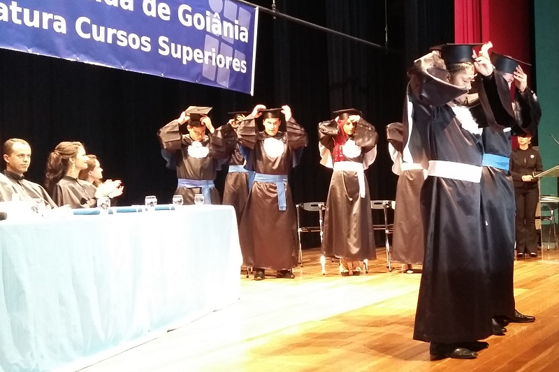 instituto federal de goiás ifg aparecida realiza colação de graua colação de grau dos cursos de engenharia civil e licenciatura em dança do ifg