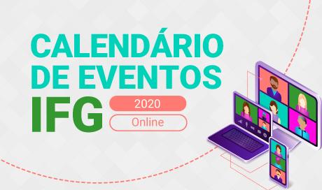 Calendário evento online 2020