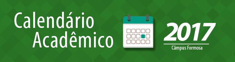 Calendário Acadêmico 2017