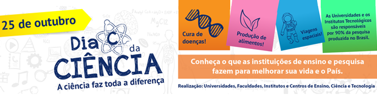 IFG vai comemorar o dia C da Ciência na próxima semana