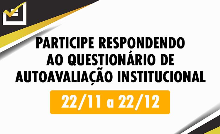 Questionário de Autoavaliação Institucional