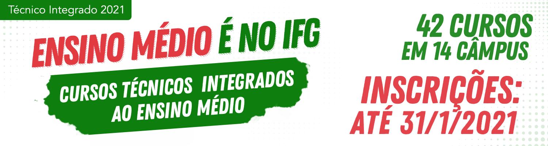 Banner Seleção 2021-1 Técnico Integrado