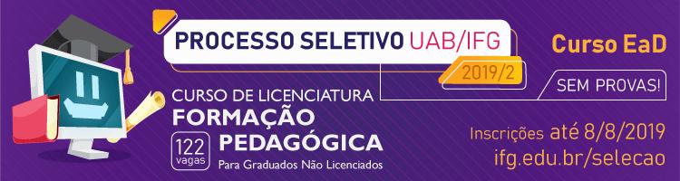 EaD - Formação Pedagógica 2019/2